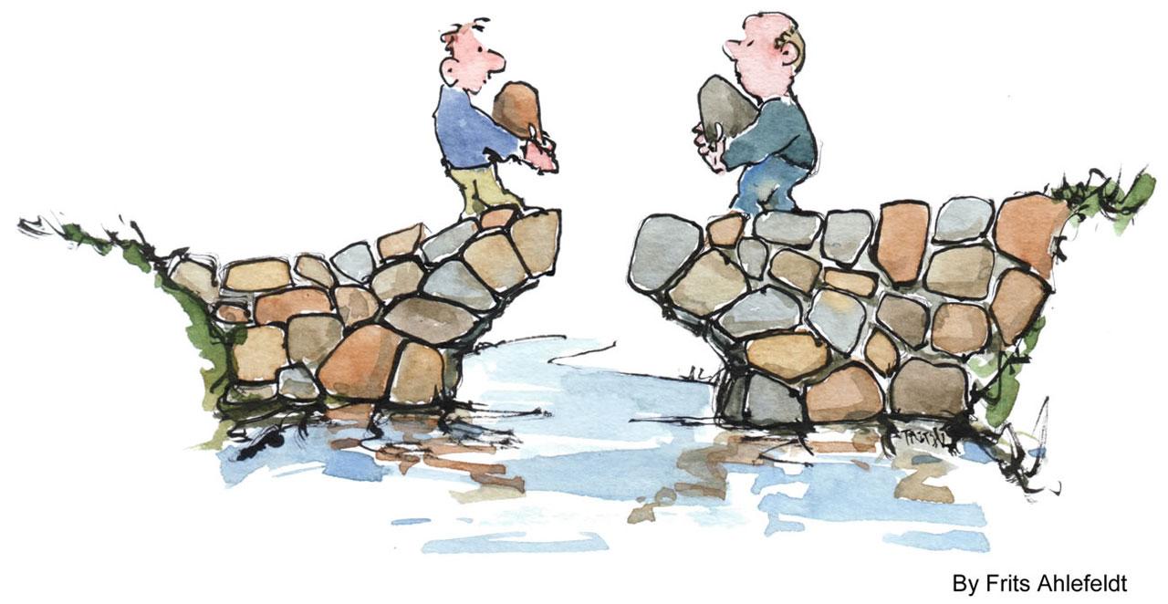 Connecting is Building Bridges